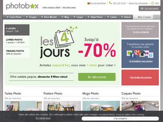 Photobox discounts